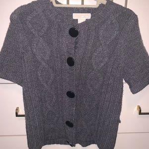 Michael Kors Women Button Down Sweater